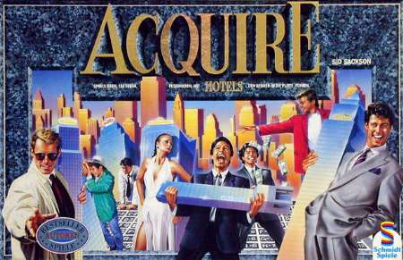 ACQUIRE - German Schmidt Spiele edition - Click to order from Funagain!