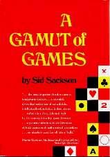 A GAMUT OF GAMES - Original 1969 Random House Hard Cover Jacket