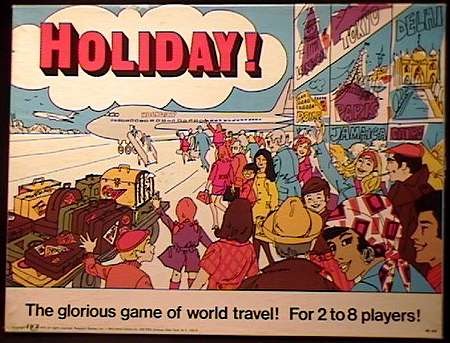 HOLIDAY - Research Games 1973