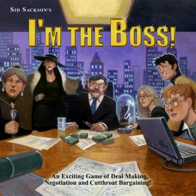 I'M THE BOSS (Click on the picture to buy it from Funagain)