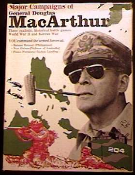 THE MAJOR CAMPAIGNS OF GENERAL DOUGLAS MACARTHUR - Research Games 1974