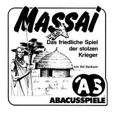 MASSAI - Click to see if Funagain has it for you!