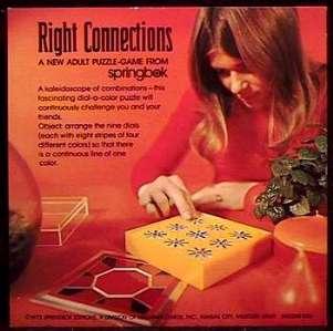 RIGHT CONNECTIONS - Springbok/Hallmark 1973