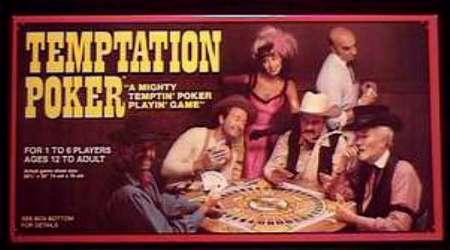 TEMPTATION POKER - Whitman 1982